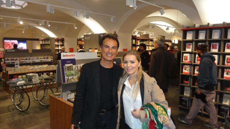 Io e Andrea De Carlo